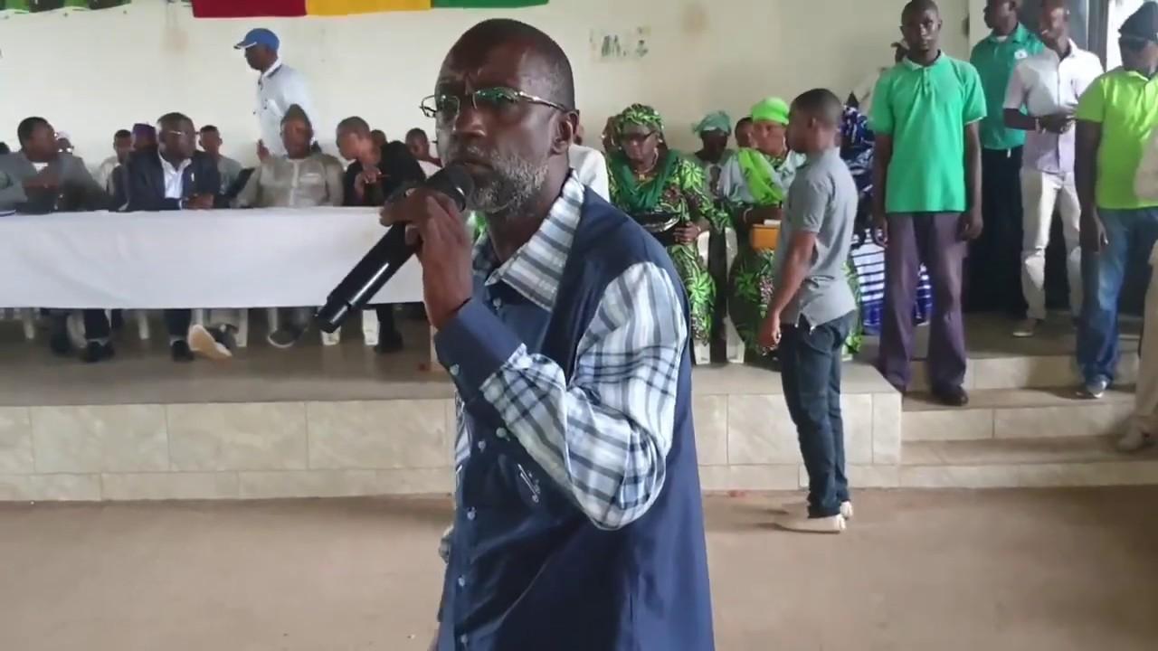 AG DE L'UFDG CE SAMEDI 13 JUILLET 2019 Mr Mamadou Barry