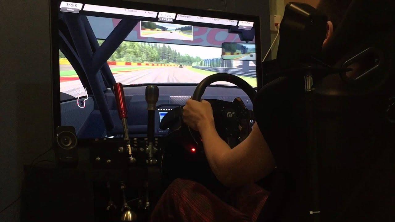 Raceroom Racing Experience - Online Race DTM Mercedes 2015 @ Spa Part.1