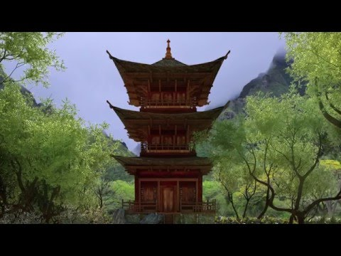 Zen Journey Video #3, Join the Master in the garden for a guided meditation