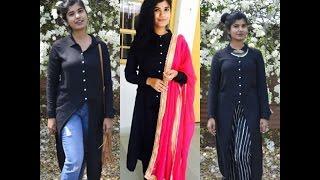 Easy edgy ways to wear a maxi top |Riya Thomas|
