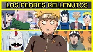 Los 5 PEORES RELLENOS de Naruto Shippuden