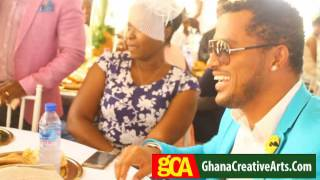 Jackie appiah, van vicker, kwaku manu, kofi adams, at journalist, attractive's wedding