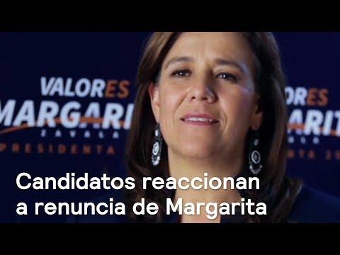 Candidatos reaccionan a la renuncia de Margarita Zavala - En Punto con Denise Maerker