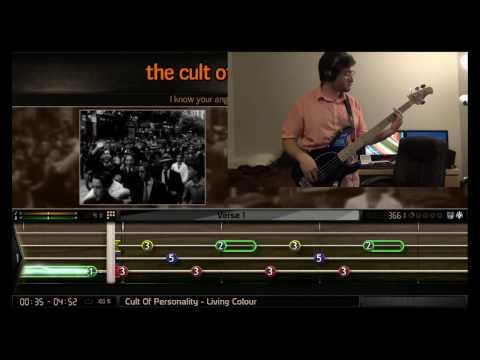 BandFuse Bass - Cult of Personality (1st Try: 81% REAL Difficulty)