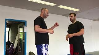 Fighting tactics, Expert 1. With Amnon Darsa at Expert Camp, day 6, Institute Krav Maga Netherlands.