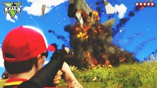 GTA 5 Military Base DESTRUCTION!!! | GTA 5 FORT ZANCUDO TAKE OVER! | GTA 5 PS4 Online Open Lobby!