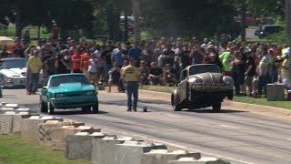 AZN Dung Beetle  Wheelstand -vs- Mustang