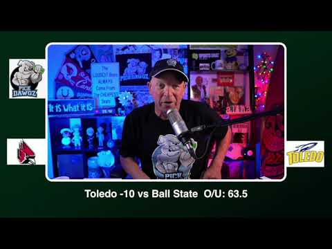 Toledo vs Ball State 11/28/20 Free College Football Picks and Predictions CFB Tips