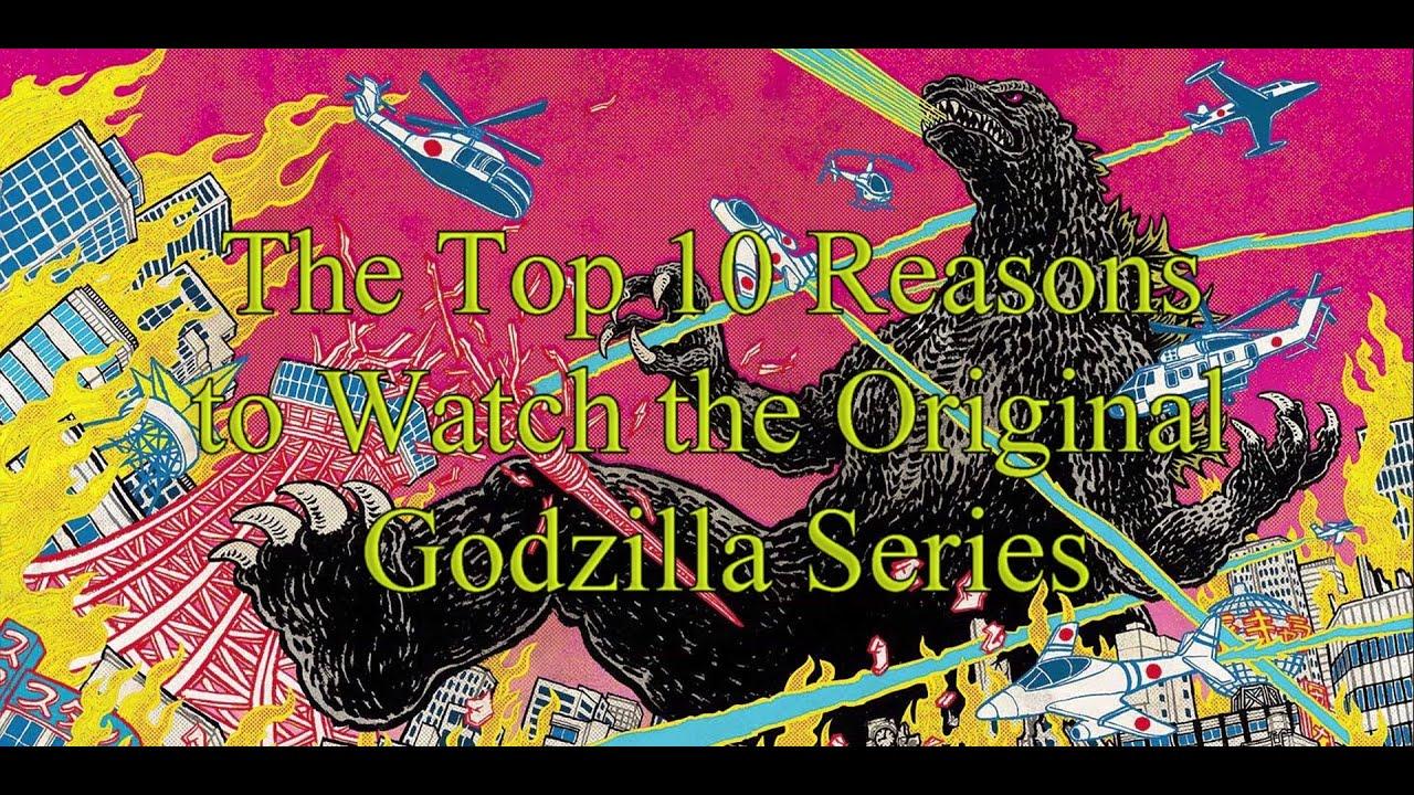 The Top 10 Reasons to Watch the Original Godzilla Series ...