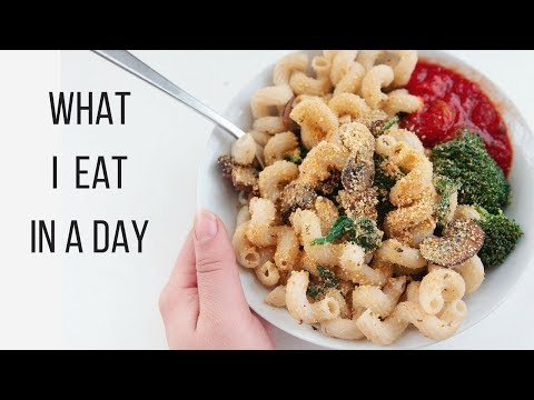 Healthy Vegan What I Eat in a Day!