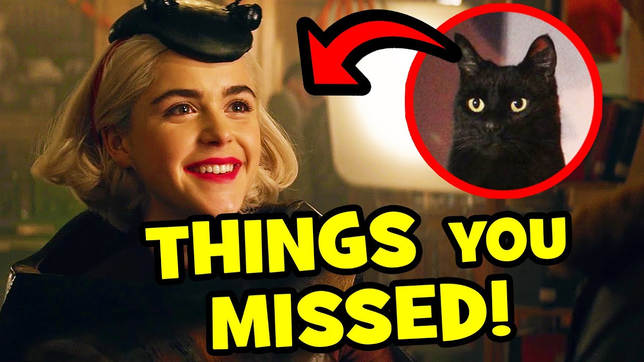 Download 43 WICKED Easter Eggs You Missed In CHILLING ADVENTURES OF SABRINA Part 4!