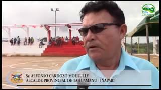 MARCAS: Municipalidad Provincial de Tahuamanu Inició de Obras en Beneficio de Iñapari