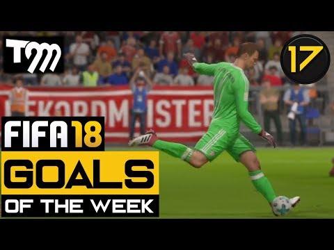 Fifa 18 - TOP 10 GOALS OF THE WEEK #17