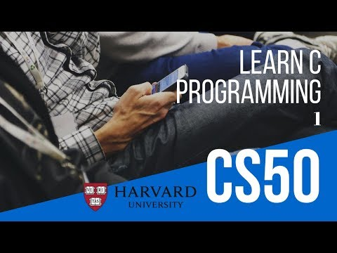 Learn C Programming - Hello World - With CS50 IDE