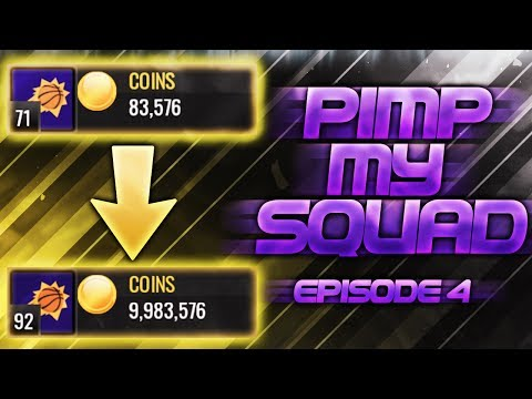 NBA Live Mobile - 10 MILLION COIN PIMP MY SQUAD EP.4!! SHOPPING SPREE! Make Sure To Enter!!!!