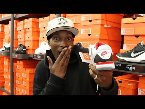 FINDING DEALS AT THE NIKE OUTLET