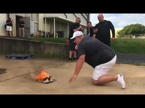 Burning Fat Boy's Nike shoes, lost football picks pool - The Rise Guys