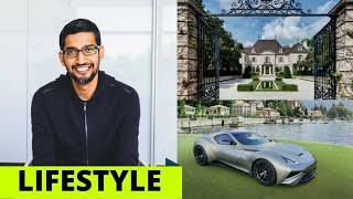 Sundar Pichai (Google\'s CEO) Lifestyle House, cars, Salary