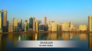 SHARJAH 4K | UHD | HDR VIDEO | DJI MAVIC AIR 2 | TOURIST DESTINATIONS IN UAE
