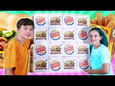 Giant Burger King Advent Calendar 2018!