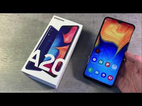 Обзор Samsung Galaxy A20 3/32GB (A205F)
