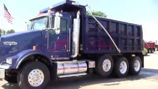 2008 Kenworth T800 Tri Axle Dump Truck #18892