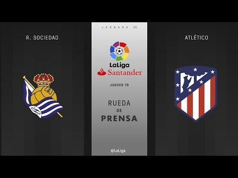 Rueda de prensa R. Sociedad vs Atlético