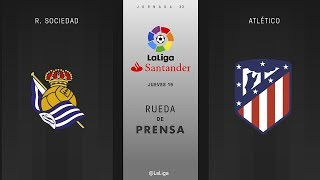 Download Video Rueda de prensa R. Sociedad vs Atlético MP3 3GP MP4