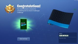 Fortnite I Unlocked The New Ice Storm Wrap! (Fortnite Livestream)