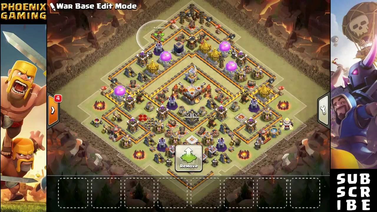 Best Th11 Farming Base 2020 LEGEND TOP TH11 WAR/FARMING BASE NEW UPDATE ANTI 2 STARS BOWLER
