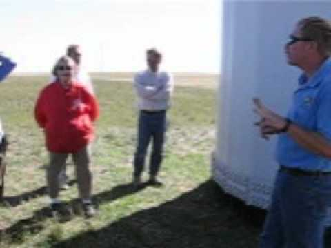 Ponnequin wind farm tour