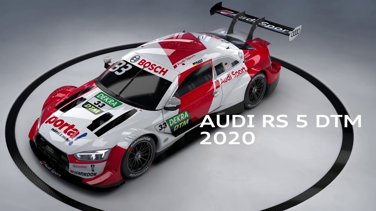 Audi Rs 5 Dtm New Clothes For The Championship Winning Car Audi Club North America