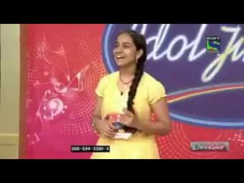 Shreya Ghoshal Singing Telugu song in Indian Idol juniors