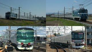2020年度初増備1編成目東京メトロ13000系13143F甲種輸送