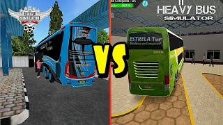 Gambar cover Top 2 Android Games Bus Simulator Indonesia BUSSID VS Heavy Bus Simulator | Best Of The Best 2019