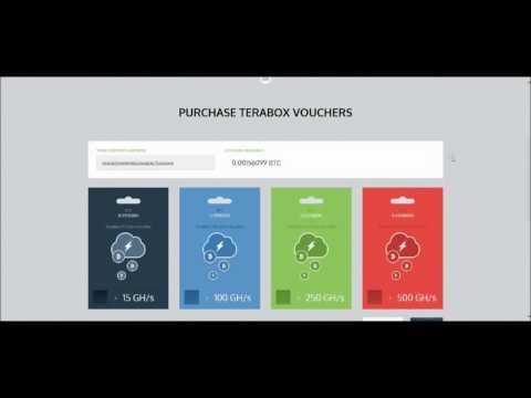TeraBox облачный майнинг Bitcoin 100 Gh бесплатно на неделю
