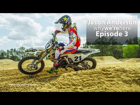 Jason Anderson wide open at Baker's Factory - Motocross Action Magazine
