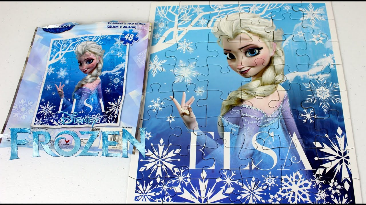 Rompe Cabezas De Elsa De FrozenUna Aventura CongelanteEl