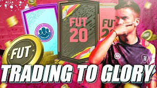 HOW TO MAKE 100K FROM THE MID ICON SBC EASILY! TRADING TIPS! FIFA 20 ULTIMATE TEAM!