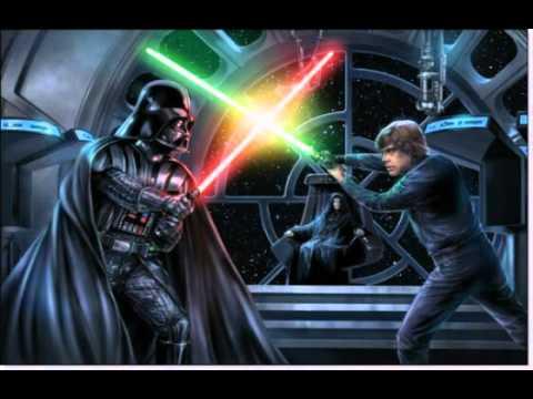 Luke Vs Vader Wallpaper Youtube