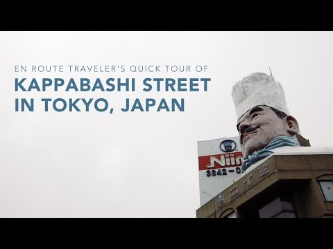 A Quick Tour of Kappabashi Street, Tokyo's Kitchen Capital