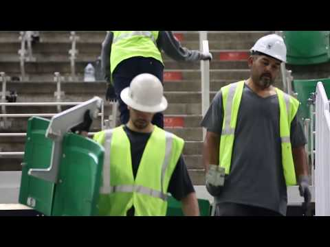 "Vivint Smart Home ""Arena Rising"" Renovation Update August 2017"