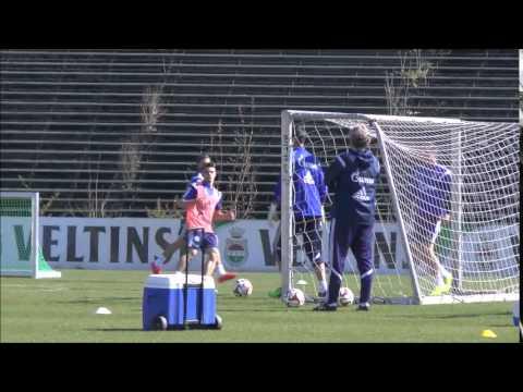 FC Schalke Training 21.04.2015