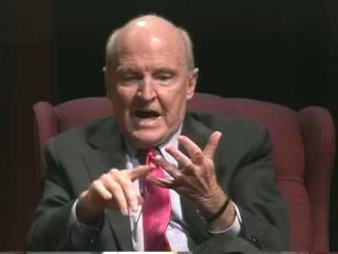Jack Welch's 3 Great Advice (Sacred Heart talk)