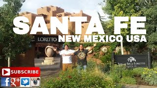 One day at Santa Fe , NM