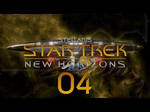 Stellaris Star Trek #04 STAR TREK NEW HORIZONS MOD - Gameplay / Let's Play