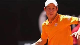 Kei Nishikori vs Juan Martin del Potro Rome Masters Open tennis Review