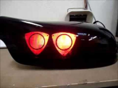 Rx 7 Fd3s Rotary Tail Lights By Jdm Auto Link Youtube