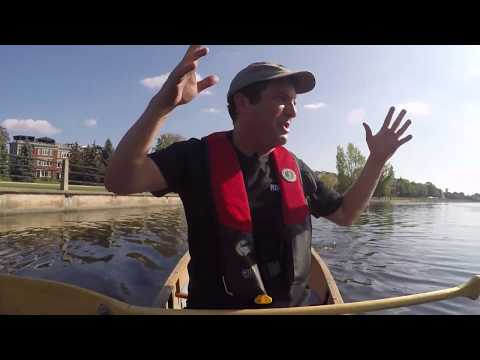 Rick on the Rideau Canal