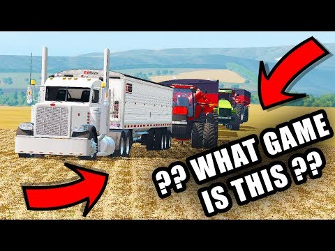 FINISHING UP SOME HARVEST  | TIREDBOG | FARMING SIMULATOR 2017 thumbnail